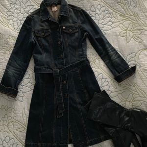 EUC Miss sixty vintage denim dress size M